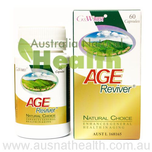 Age Reviver Natural Remedies as Herbal Supplements