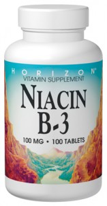 Niacin B3 vitamin supplements