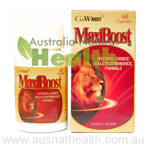 Maxiboost Natural Remedies as Herbal Supplements