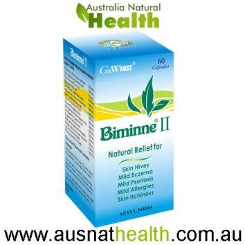 biminne-II g&w aust 60 capsules