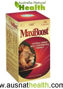 maxiboost g&w aust 60 capsules