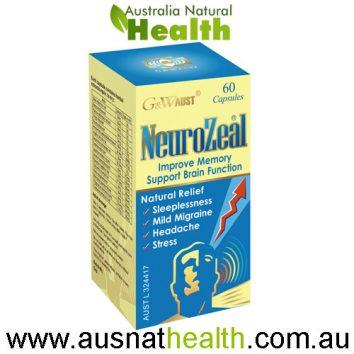 neurozeal g&w aust 60 capsules
