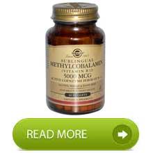 Solgar Vit b12 methyl 5000mcg 60