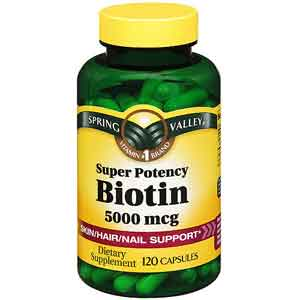 Biotin Vitamin Supplement