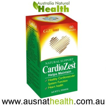 CardioZest Capsules G&W Aust